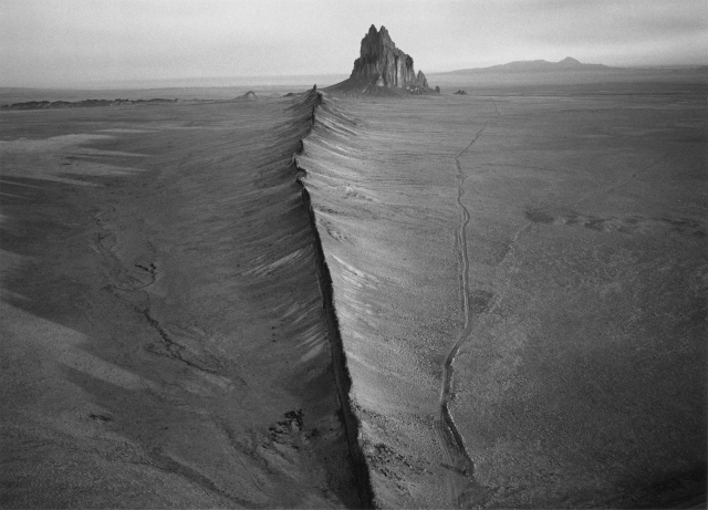 View of Shiprock, N.M., William Clift
