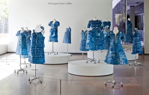 From Annie Lopez's current exhibition. Photo courtesy of Phoenix Art Museum.