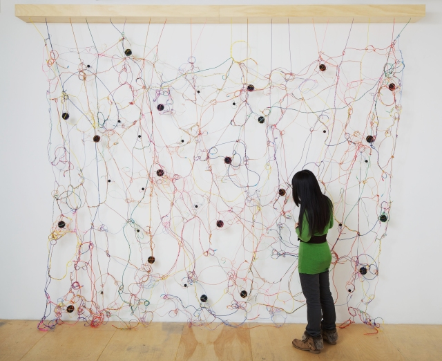 """Loop,"" a sound installation by Julianne Swartz, image courtesy of the artist and Scottsdale Museum of Contemporary Art."