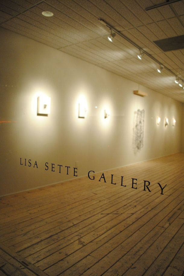 A spare but contemporary ambience is the hallmark of Lisa Sette Gallery on Marshall Way.
