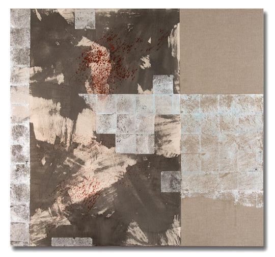 """Judith Kruger's """"Silver Lining Meditations"""" at Bentley Gallery. Image courtesy of the gallery and CLUTCH Photo."""