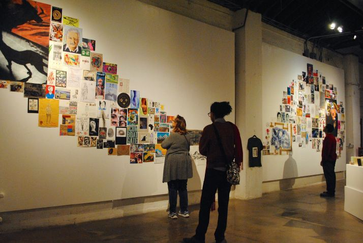 """A first-time collaboration between monOrchid and the Phoenix Art Museum has brought portions of """"Focus on Latin America: Art is Our Last Hope,"""" featuring international mail art by Paolo Bruscky and others, to the gallery space."""