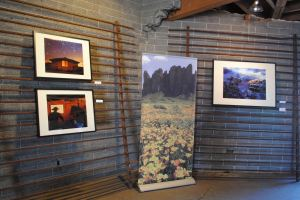 Arizona Republic photographers manned a pop-up space at the Oasis on Grand, showing stunning landscapes and other works.